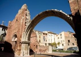 Zona centro con restos medievales