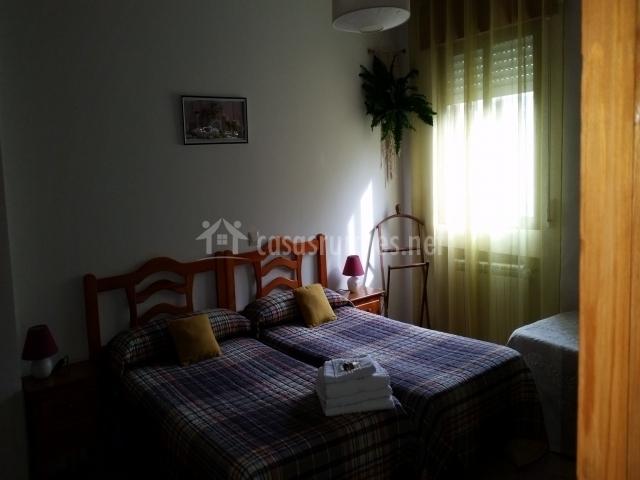 Dormitorio triple