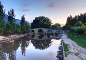 Zona del puente de Navaluenga