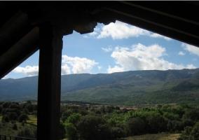 Vistas desde el porche superior