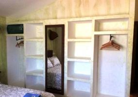 Detalle del armario del dormitorio