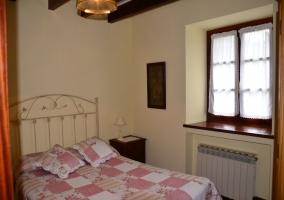 Dormitorio de matrimonio tonos claros