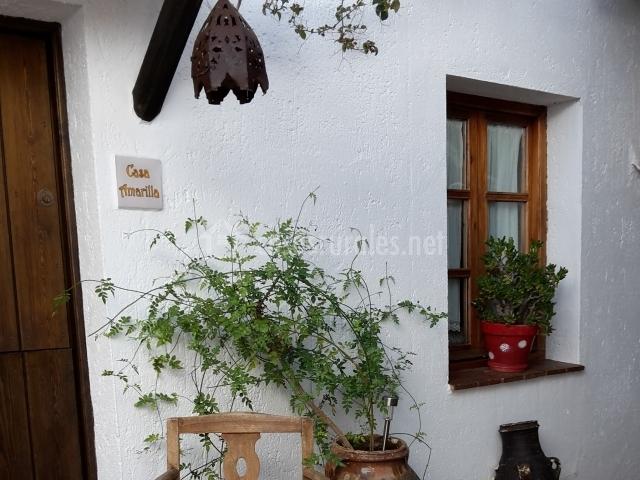 Casa rural la carrihuela en algodonales c diz for Tejados madera blanca
