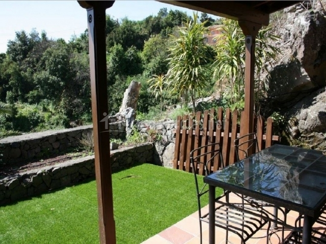 Jardín techado