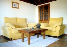 Salón sofá cama