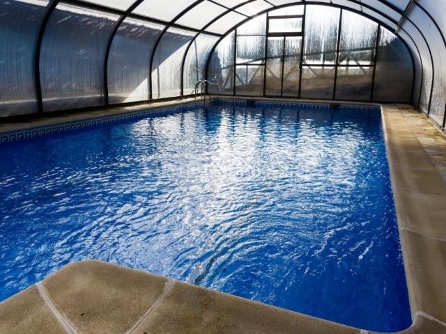 Vistas de nuestra piscina cubierta