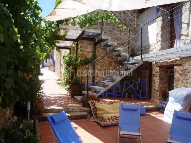 L escala casas rurales en alpuente valencia - Fotos casas rurales con encanto ...