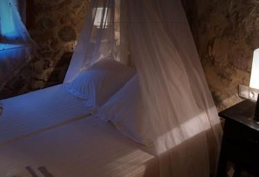 Gran dormitorio de piedra