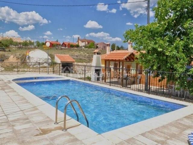 Casa los pozos casas rurales en calar de la santa murcia - Casa rural murcia piscina climatizada ...