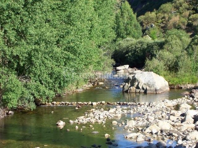 Zona natural de Hoyocasero