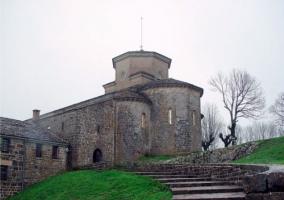 Castillo cercano a la casa rural