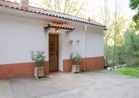Casa del molino Batán Río Tus