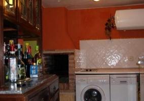 Amplia cocina
