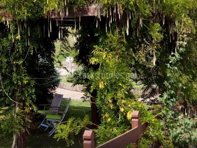 Rincón del jardín