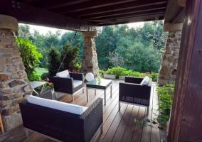Butacas de la terraza