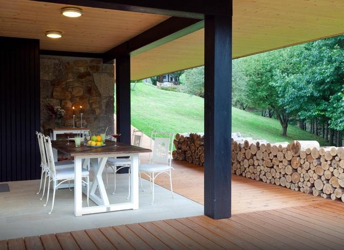 Terraza del porche