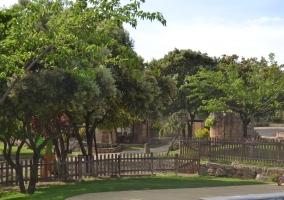 Vistas de los jardines