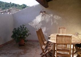 Les Glycines - Gîte Terrasse