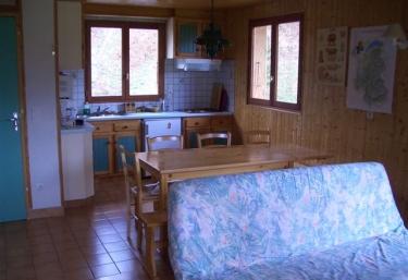 Le Chalet Blanc- Appart 5 à 6 personnes - Montriond, Alta-Saboya