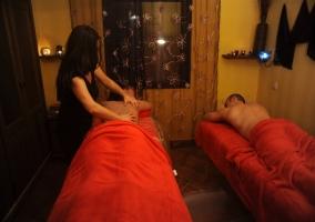 Masajes y tratamientos SPA