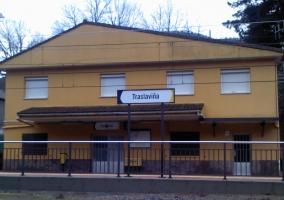 Estación del antiguo tren minero Castrourdiales Traslaviña