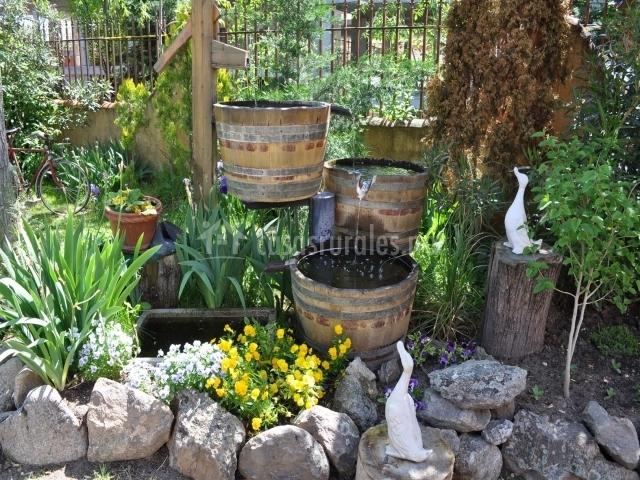 Cava vinos de rueda casas rurales en olmedo valladolid for Jardines olmedo