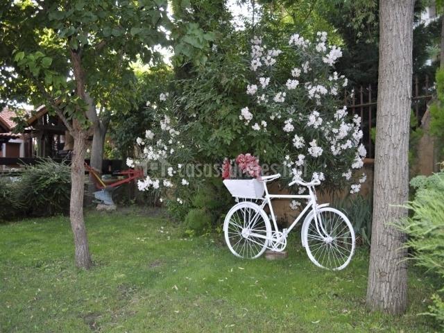 Cava baja casas rurales en olmedo valladolid - Bicicleta macetero ...