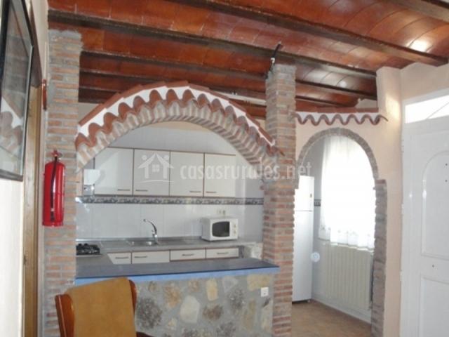 Casa alderete villa trinidad en navares murcia - Arcos de ladrillo visto ...