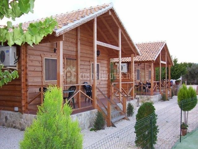 Caba as de madera altozano en moratalla murcia - Casas rurales madera ...