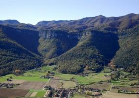 Espacio del Parque Natural de la Garrotxa