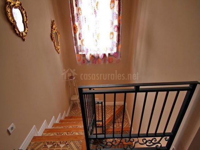 Escalera de la casa