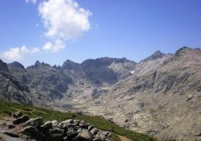Montañas en la Sierra de Gredos