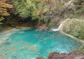 Piscina natural en el parque de Urbasa Andía