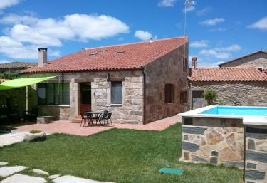 4 casas rurales en tudera - Casa rural leocadia y casa clemente ...