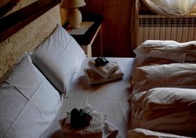 Detalle equipamiento de las habitaciones