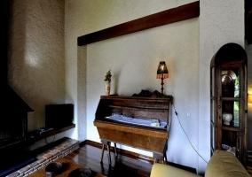 Detalle muebles del salón