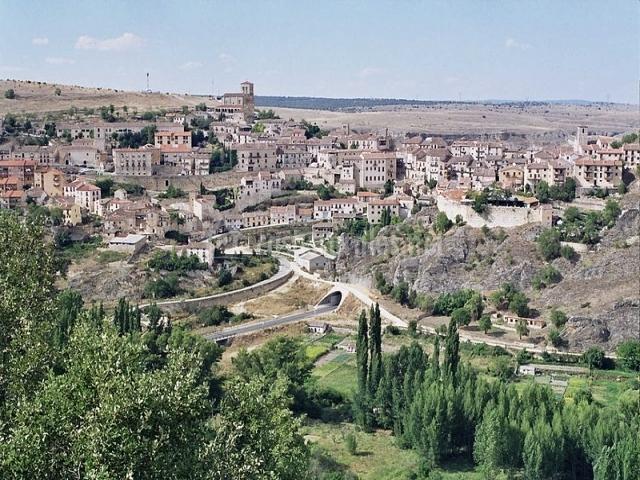 Vista general del pueblo de Sepúlveda