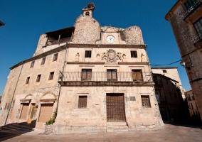 Vista de la fachada del ayuntamiento de Sepúlveda