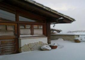 Casa Mendía en invierno
