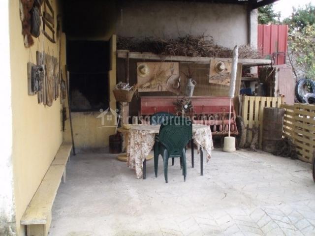 Casa villa mart n casas rurales en san martin de unx navarra - Casa rural con chimenea en la habitacion ...