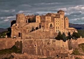 Vistas al castillo de Cardona