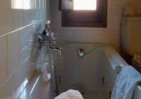 Aseo con bañera