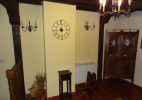 Muebles de madera de la Casa Vieja