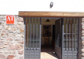 Puerta de entrada a la Posada