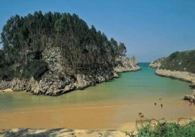 Playa y bufones de Pría