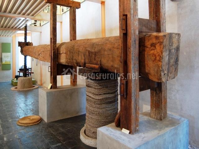 Museo del Aceite, en Mora