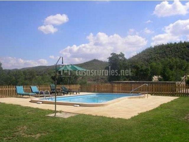 El prat en vallmanya lleida - Casas rurales lleida piscina ...