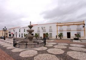 La plaza de La Puebla de la Reina