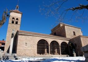 Iglesia de San Sebastián en Cercedilla