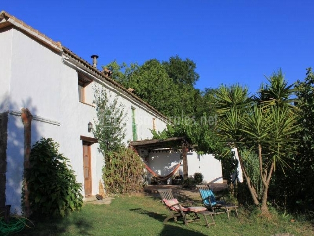 Casa rural ahora en el colmenar estacion de gaucin m laga - Muebles de jardin malaga ...